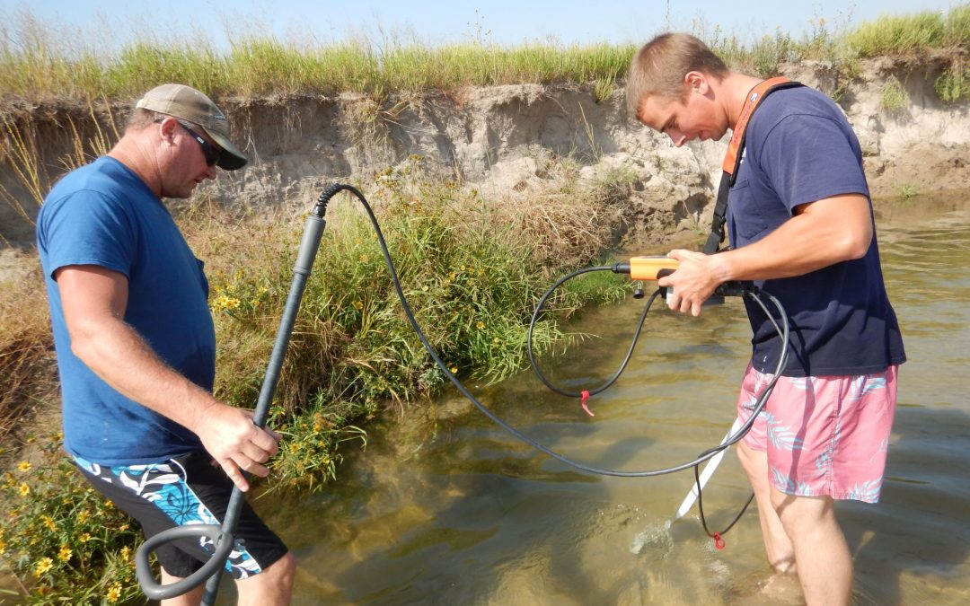 Nebraska Game and Parks Mussel Study